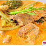 แกงเทโพหมู อาหารไทย เมนูแกงกะทิ แบบง่ายๆ แสนอร่อย